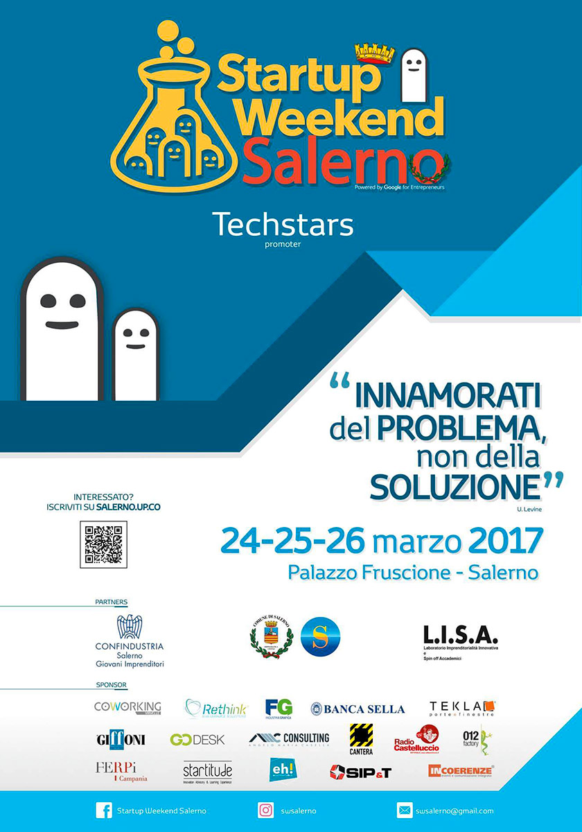 programma start up weekend salerno